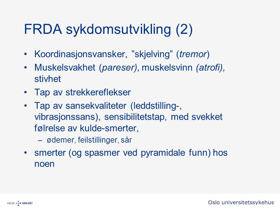FRDA sykdomsutvikling (2)