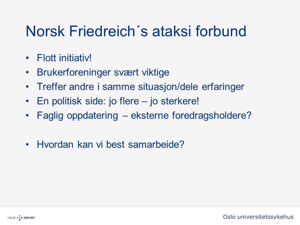 Norsk Friedreich´s ataksi forbund
