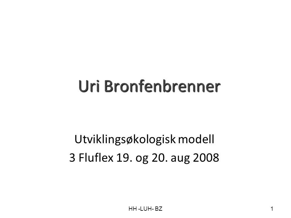 Utviklingsøkologisk modell 3 Fluflex 19. og 20. aug 2008