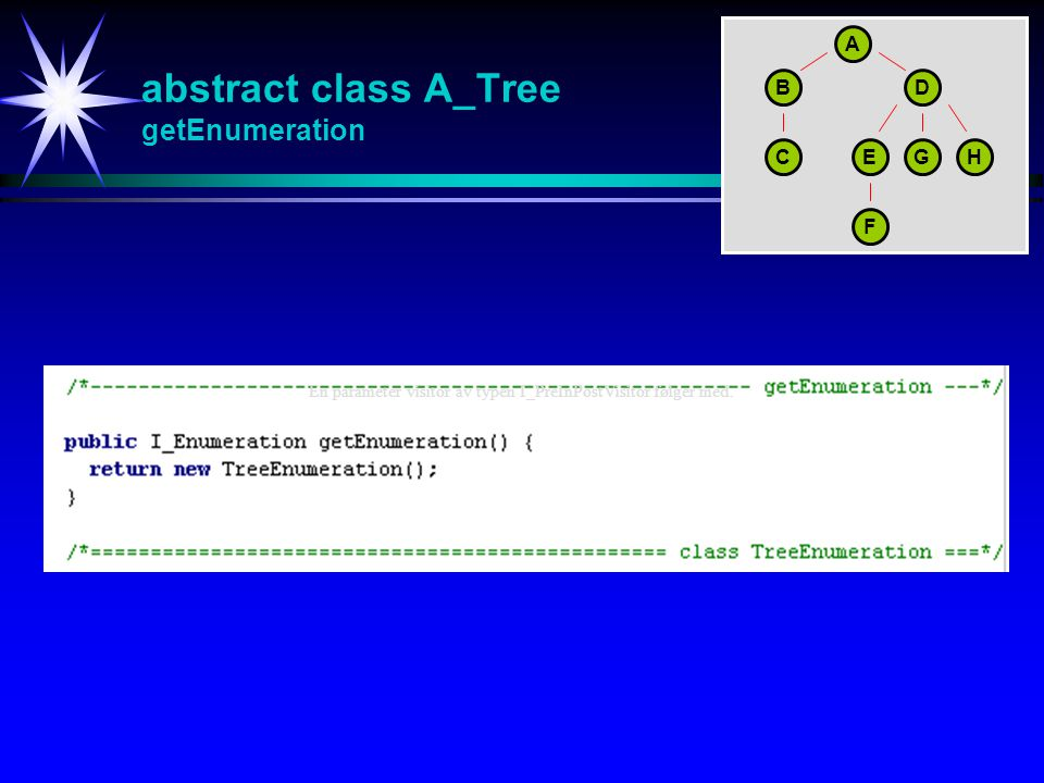 abstract class A_Tree getEnumeration