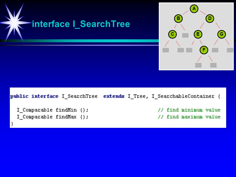 interface I_SearchTree