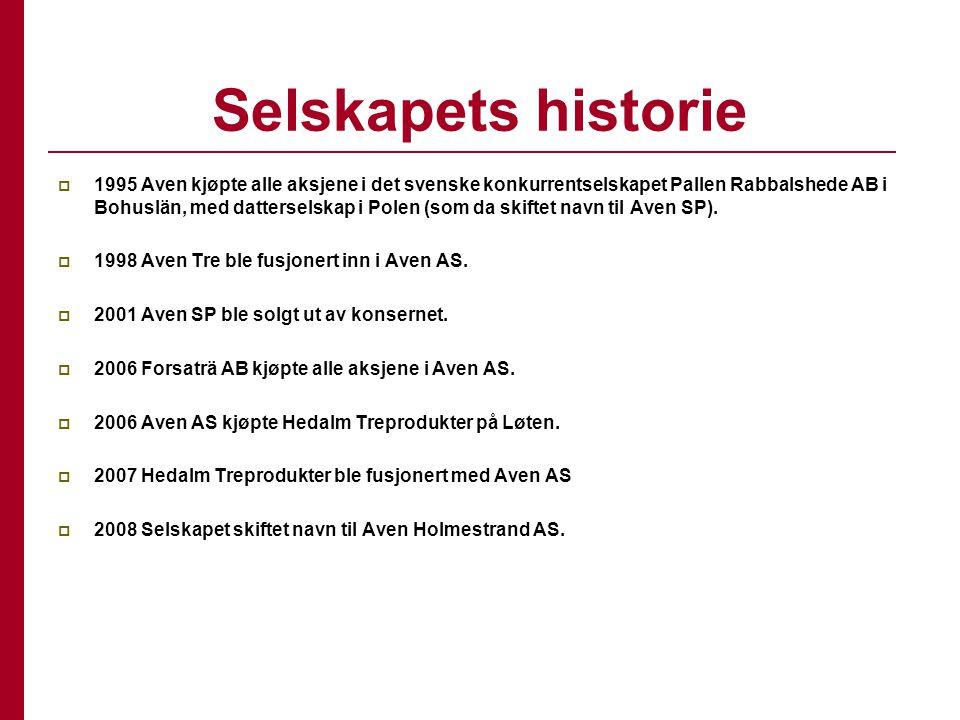 Selskapets historie