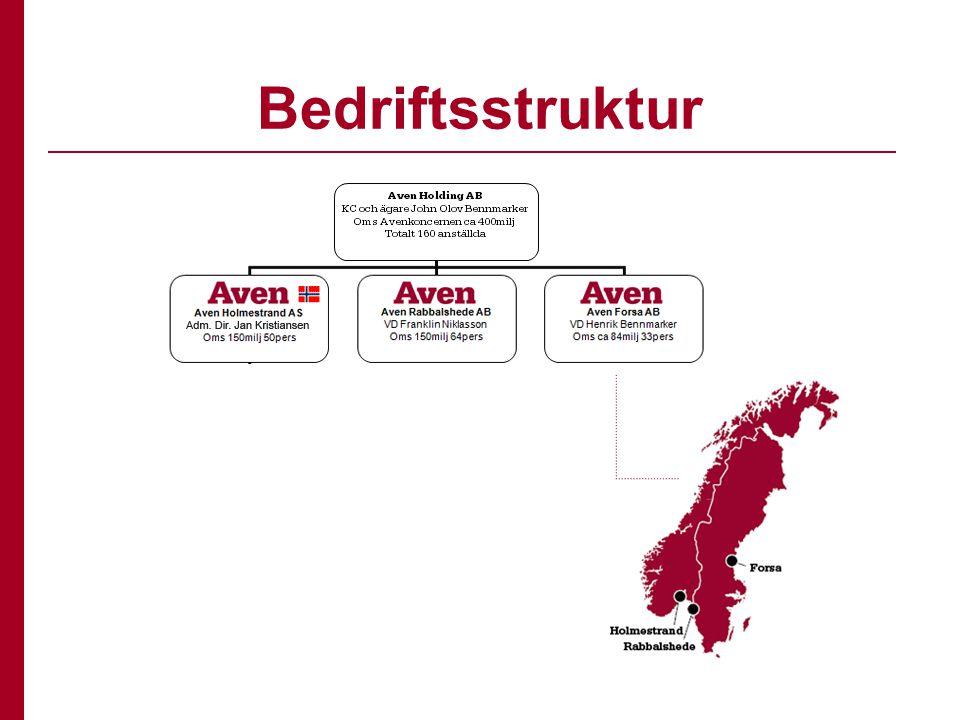 Bedriftsstruktur