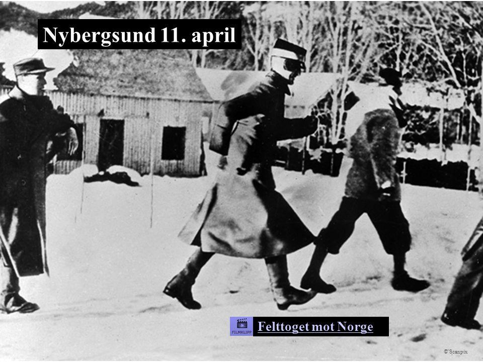 Nybergsund 11. april Scanpix Felttoget mot Norge © Scanpix