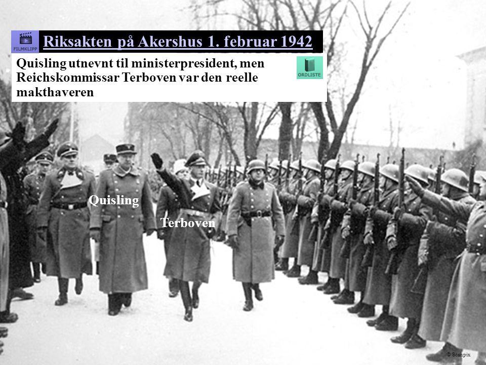 Riksakten på Akershus 1. februar 1942