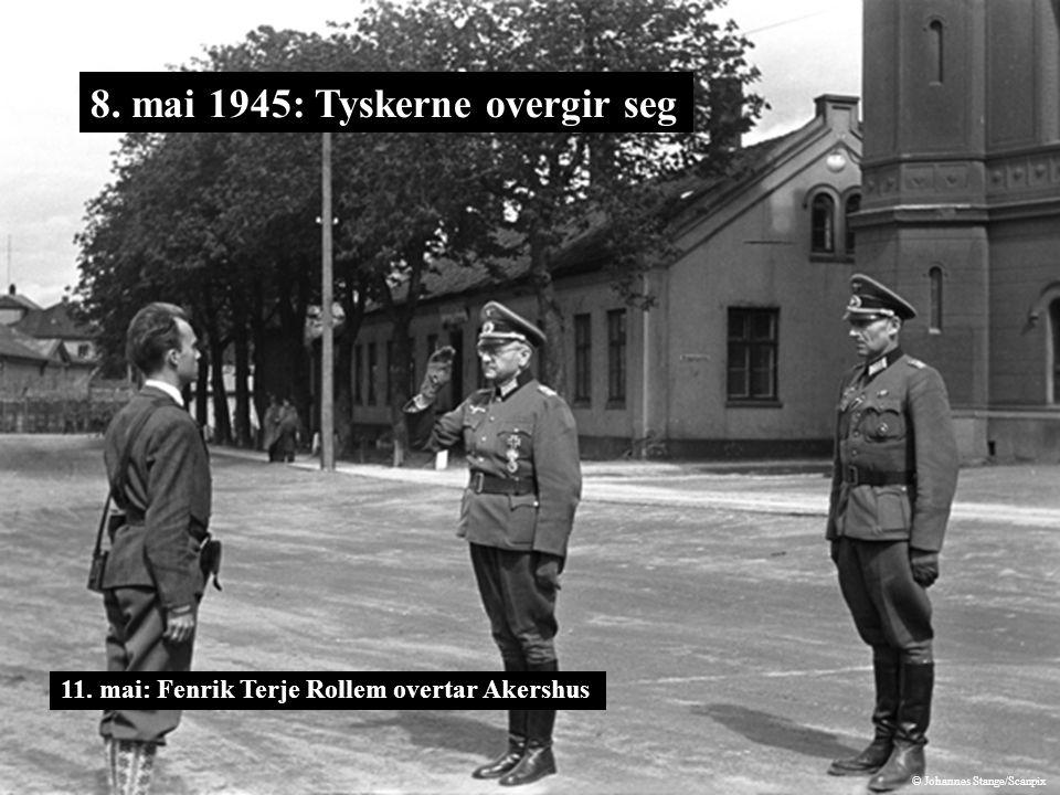 8. mai 1945: Tyskerne overgir seg