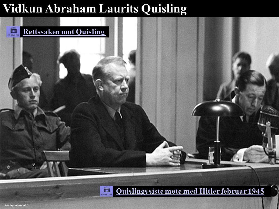 Vidkun Abraham Laurits Quisling