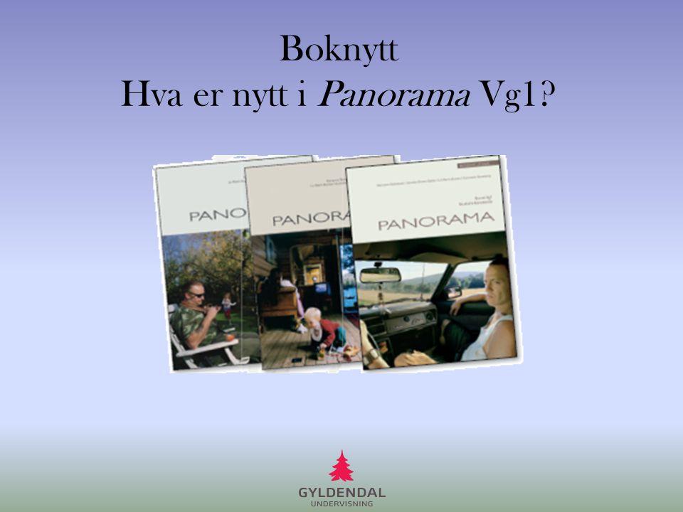 Boknytt Hva er nytt i Panorama Vg1