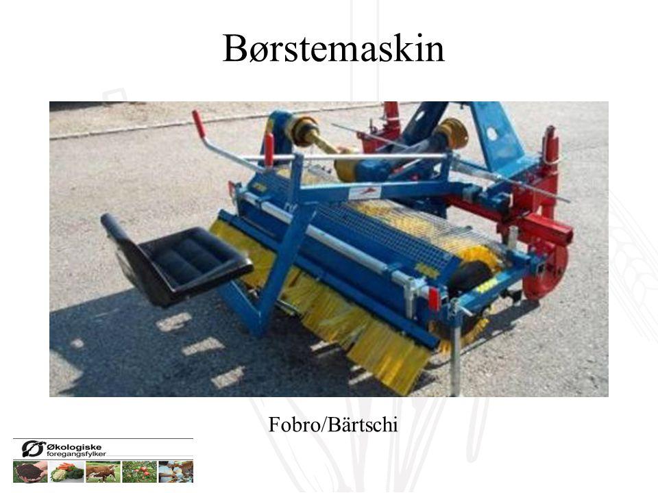 Børstemaskin Fobro/Bärtschi