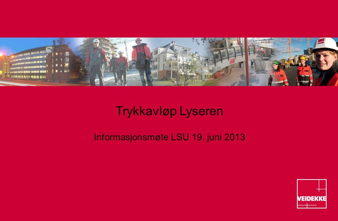 Informasjonsmøte LSU 19. juni 2013