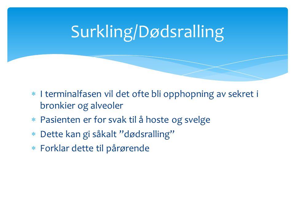 Surkling/Dødsralling