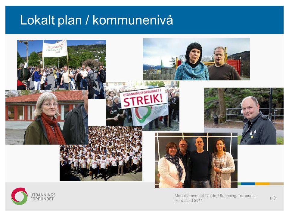 Lokalt plan / kommunenivå