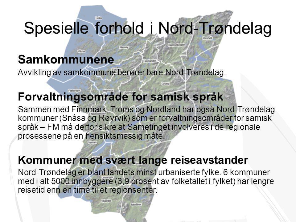 Spesielle forhold i Nord-Trøndelag