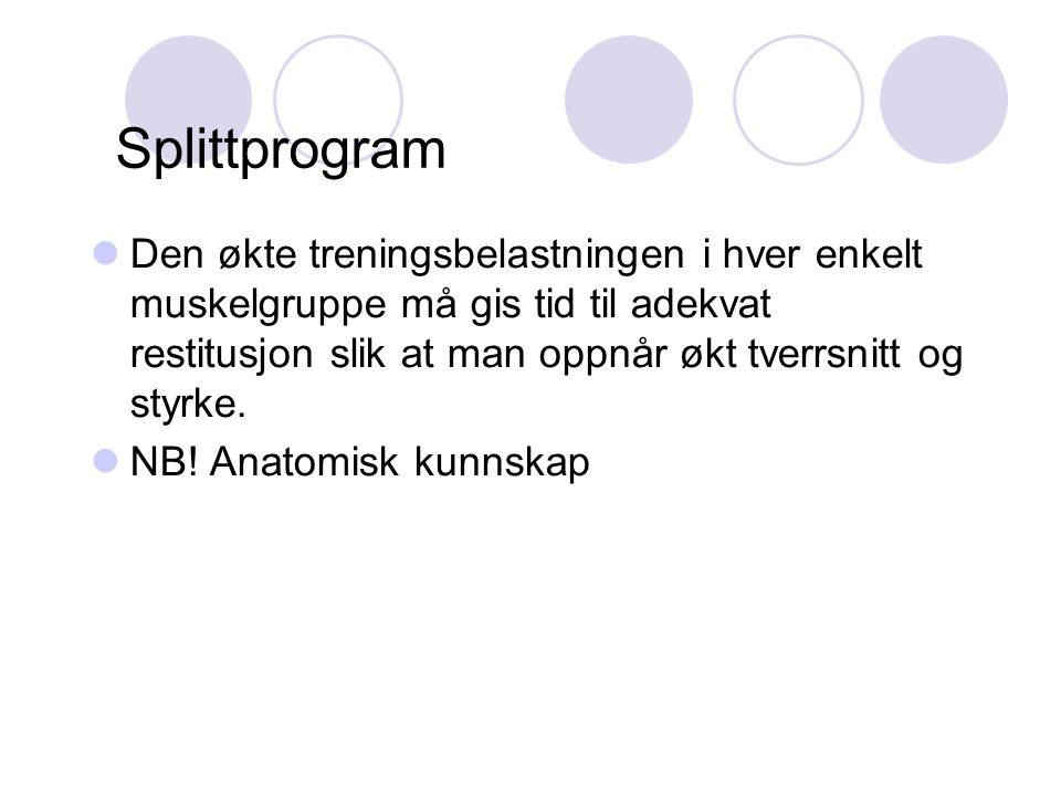Splittprogram