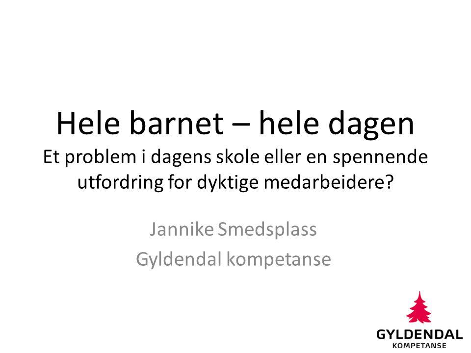 Jannike Smedsplass Gyldendal kompetanse