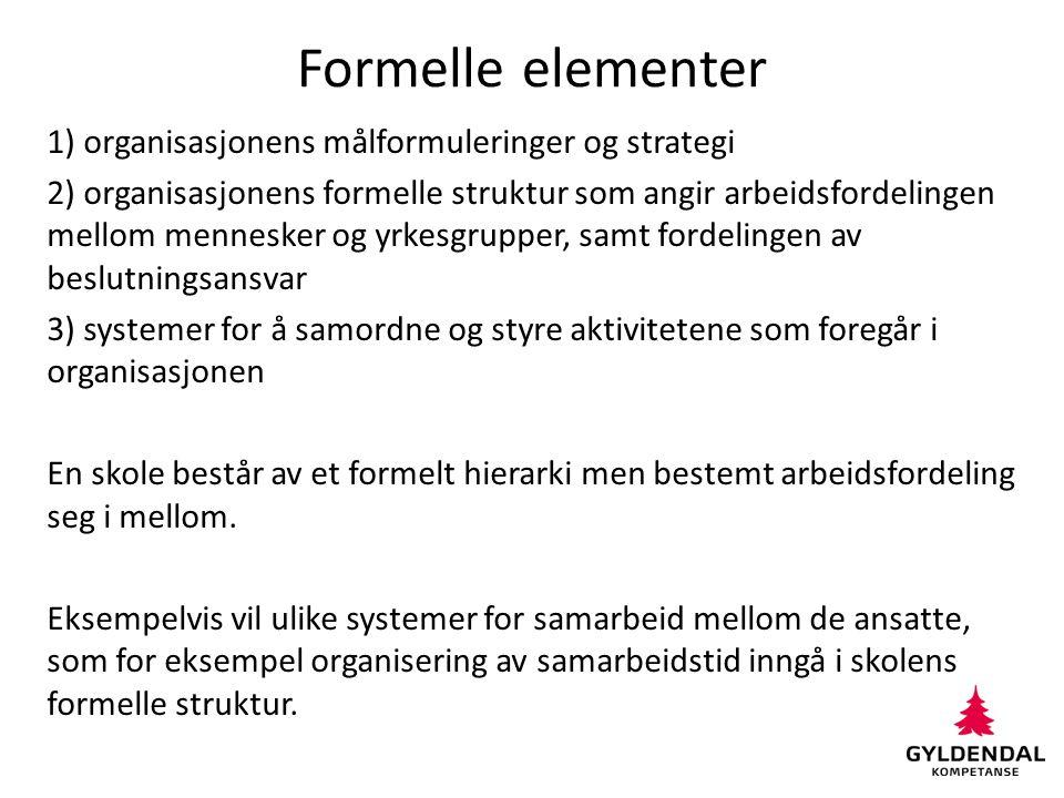 Formelle elementer