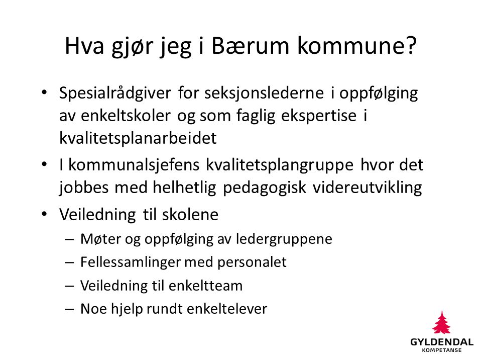 Hva gjør jeg i Bærum kommune