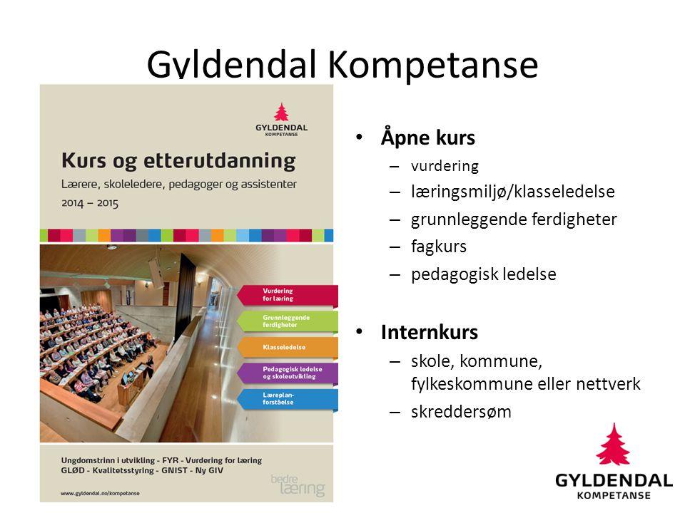 Gyldendal Kompetanse Åpne kurs Internkurs læringsmiljø/klasseledelse