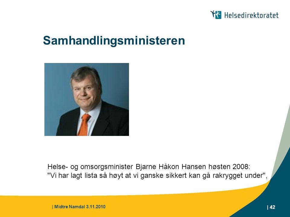 Samhandlingsministeren