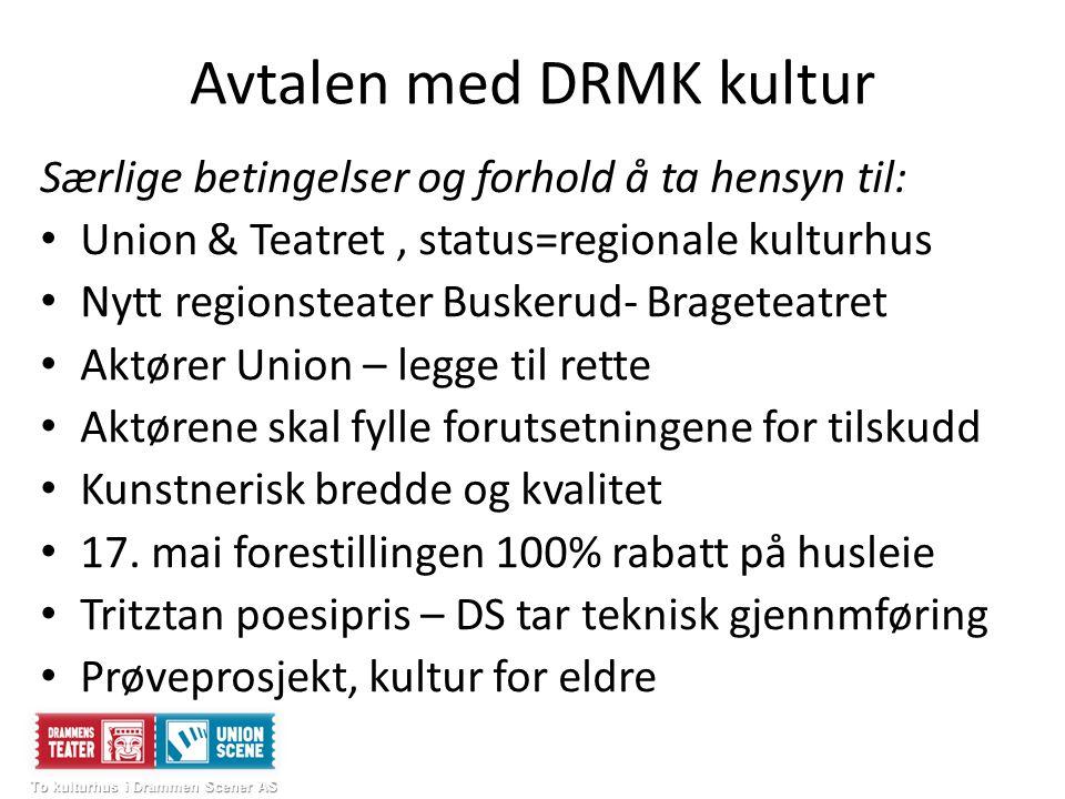 Avtalen med DRMK kultur