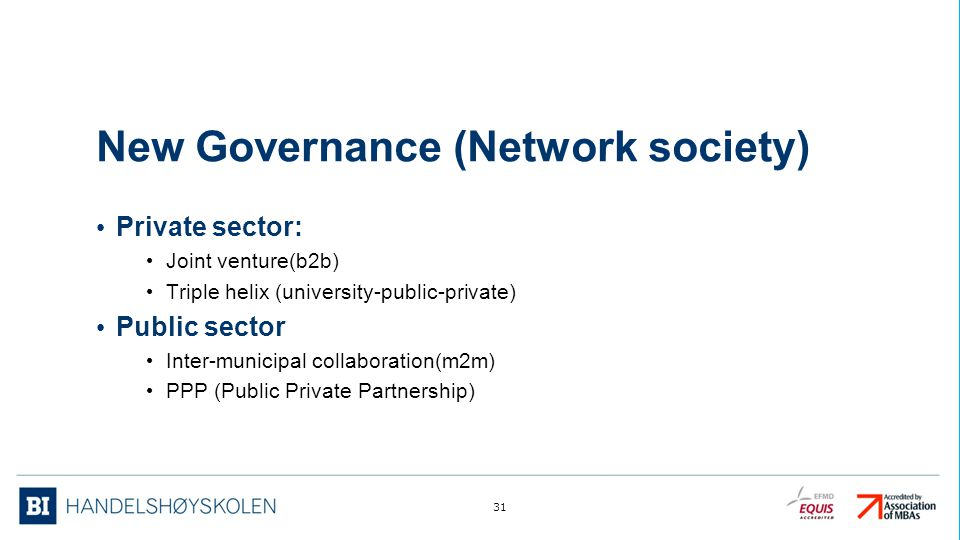 New Governance (Network society)