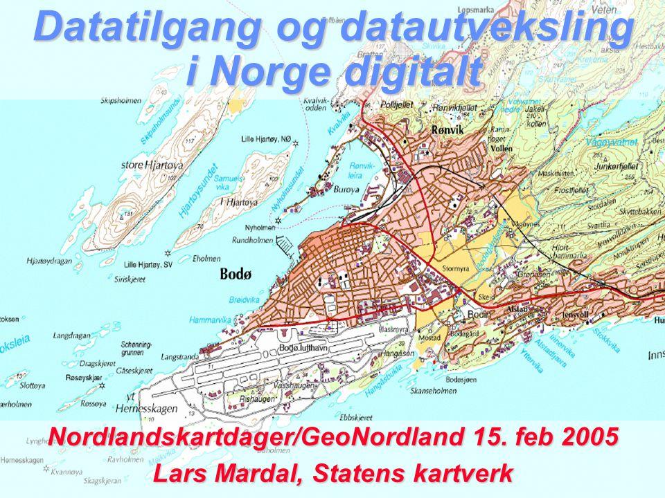 Datatilgang og datautveksling i Norge digitalt