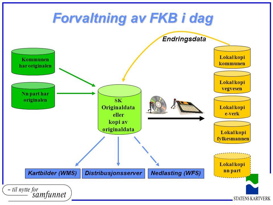 Forvaltning av FKB i dag