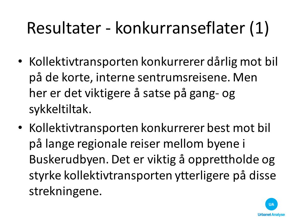 Resultater - konkurranseflater (1)