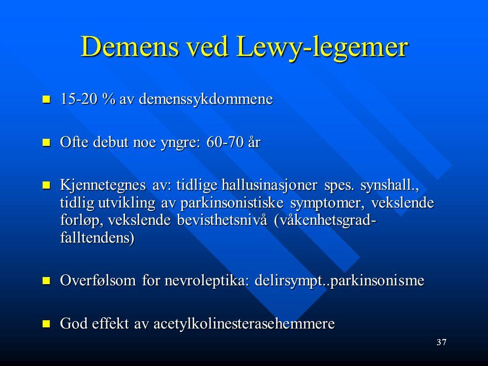 Demens ved Lewy-legemer