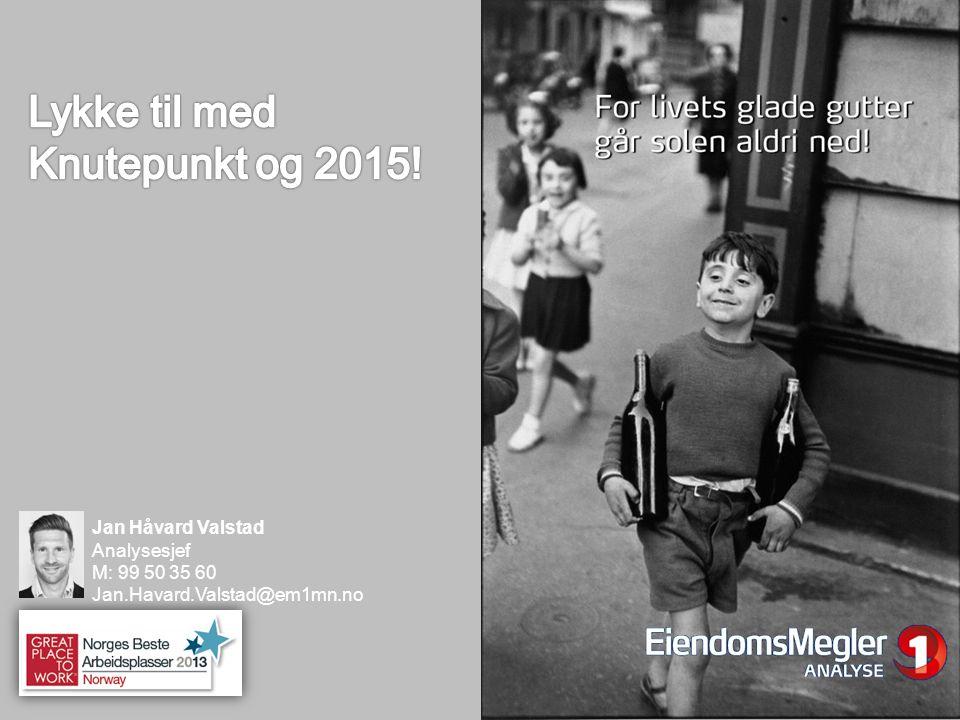 Lykke til med Knutepunkt og 2015!