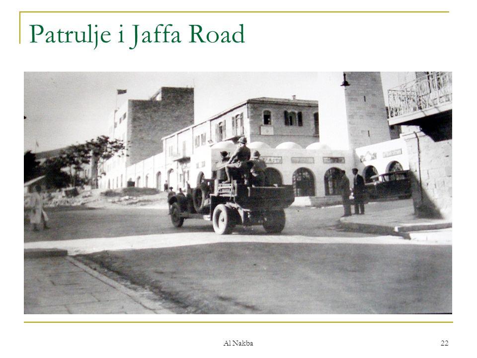 Patrulje i Jaffa Road Al Nakba