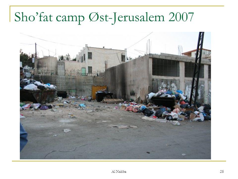 Sho'fat camp Øst-Jerusalem 2007