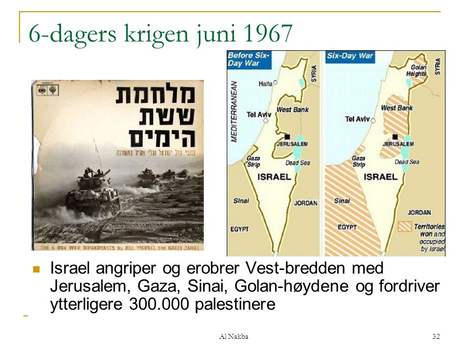 6-dagers krigen juni 1967