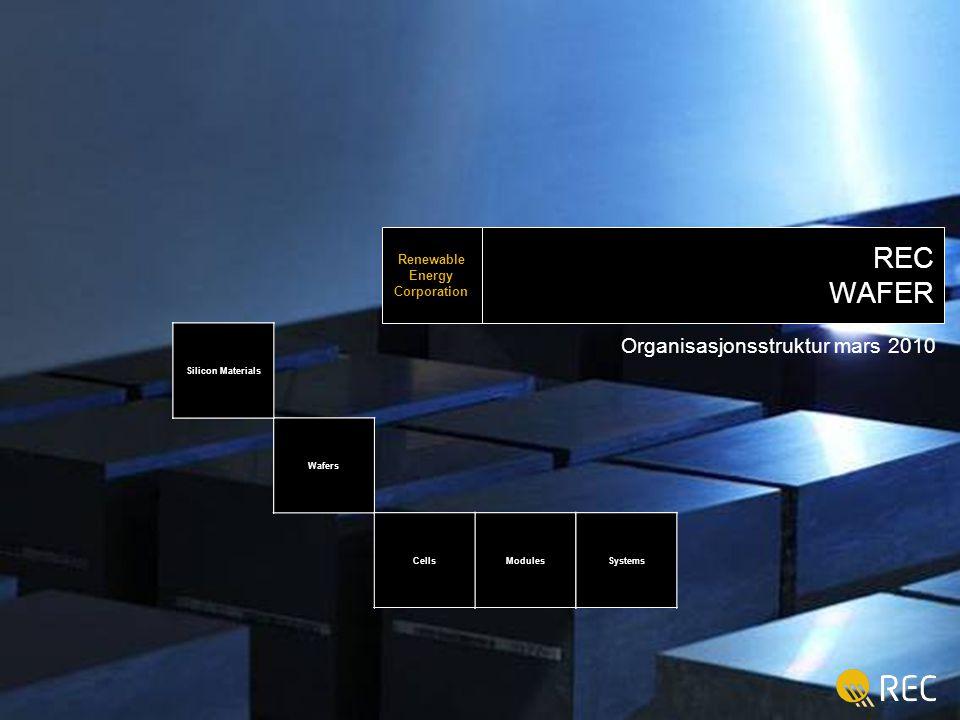 Organisasjonsstruktur mars 2010