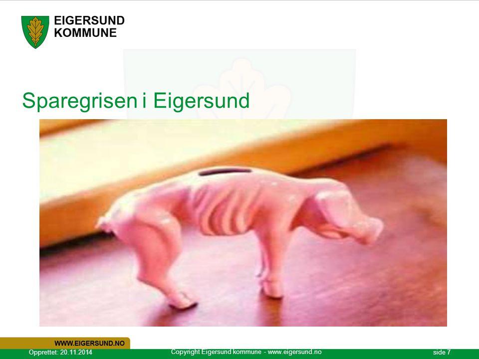 Sparegrisen i Eigersund