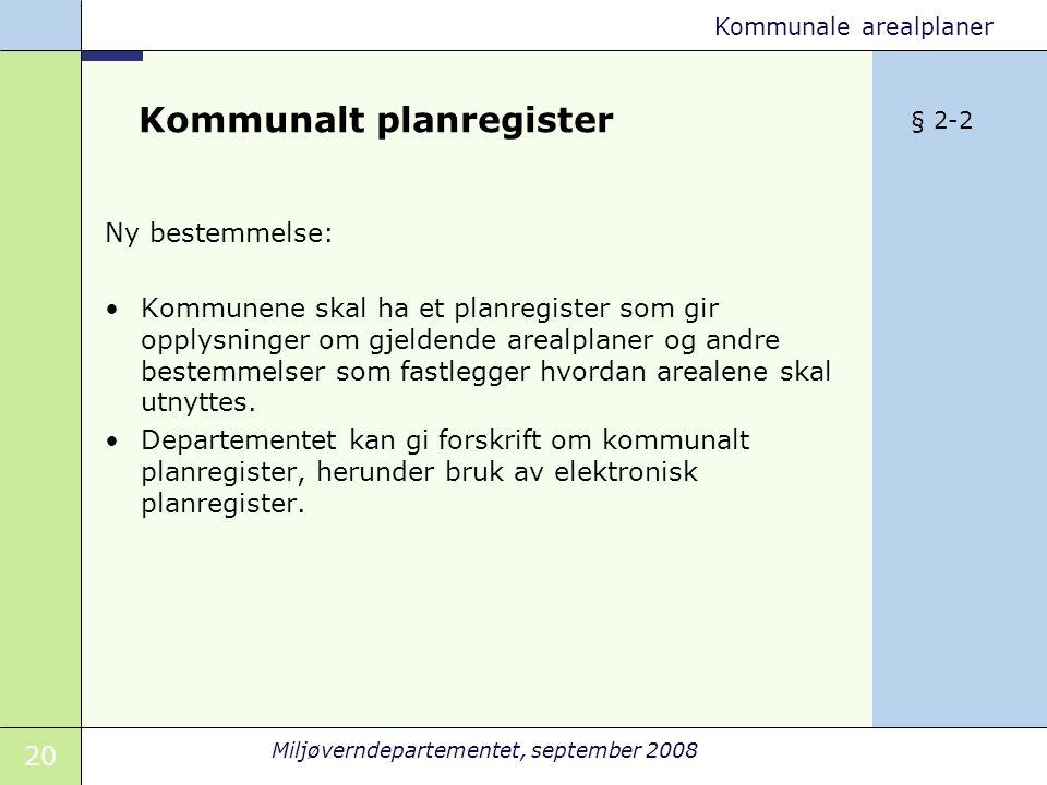 Kommunalt planregister