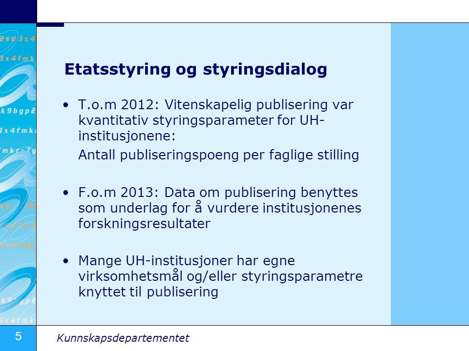 Etatsstyring og styringsdialog