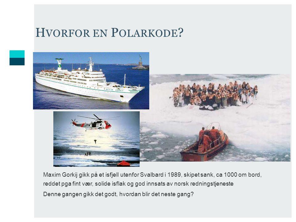 Hvorfor en Polarkode