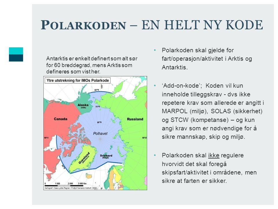 Polarkoden – EN HELT NY KODE
