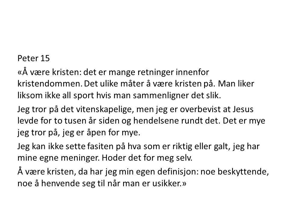 Peter 15