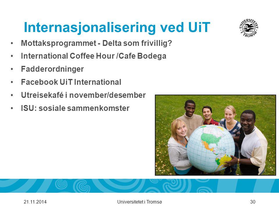 Internasjonalisering ved UiT
