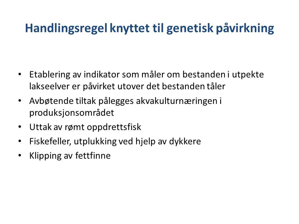 Handlingsregel knyttet til genetisk påvirkning