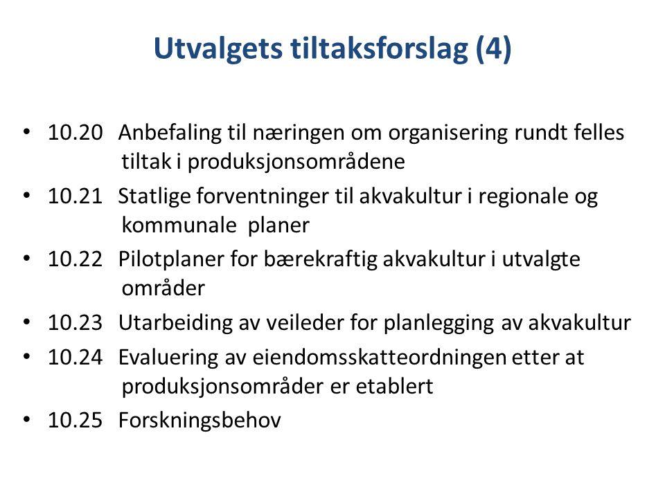 Utvalgets tiltaksforslag (4)
