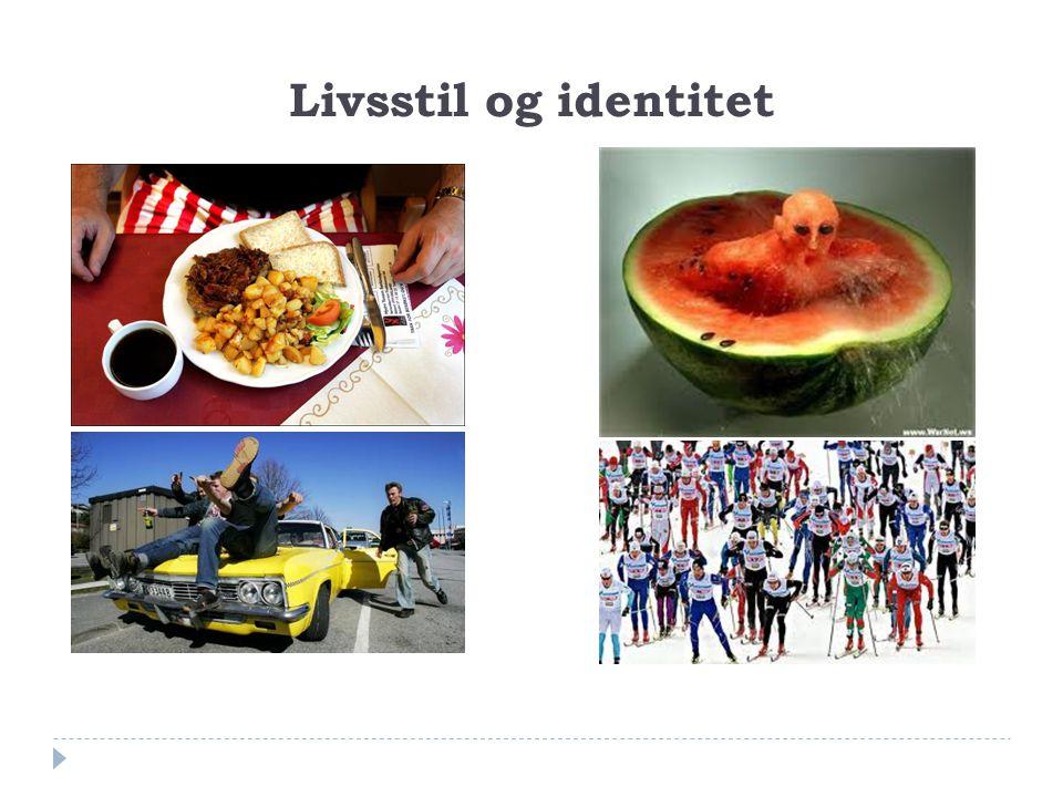 Livsstil og identitet Helsepersonell spiser sunt og går på ski