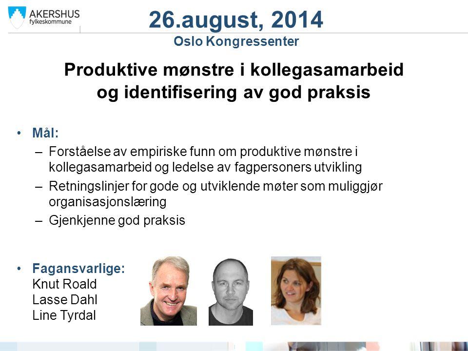 Produktive mønstre i kollegasamarbeid