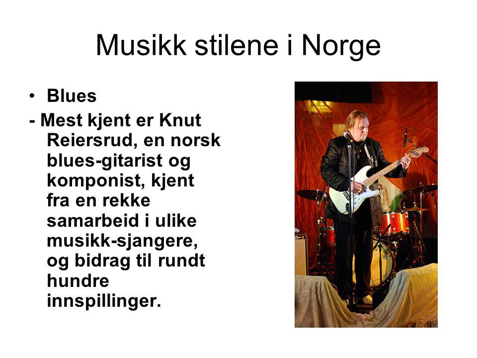 Musikk stilene i Norge Blues