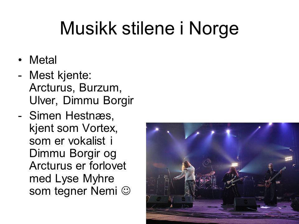 Musikk stilene i Norge Metal