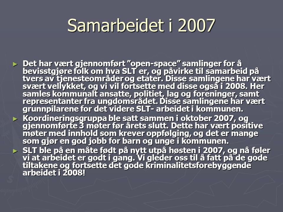 Samarbeidet i 2007