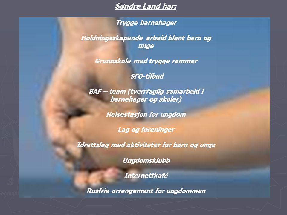 Søndre Land har: Trygge barnehager