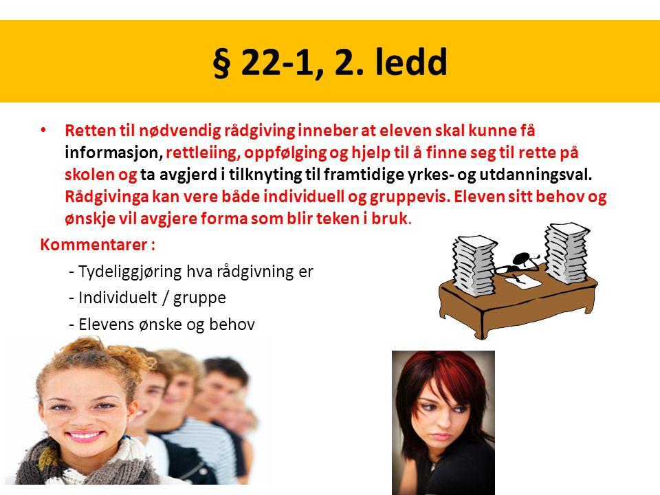 § 22-1, 2. ledd